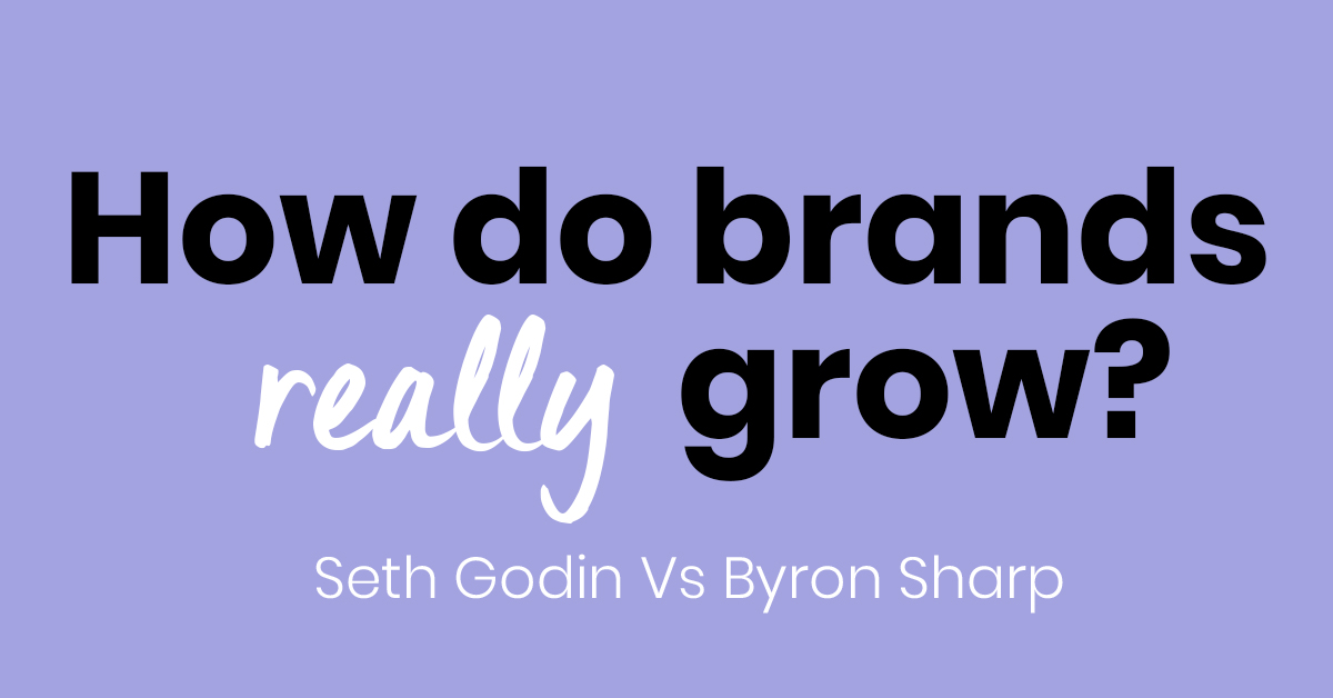 how do brands really grow
